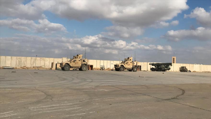 Por 2.ª vez en una semana atacan base Ain Al-Asad de EEUU en Irak   HISPANTV