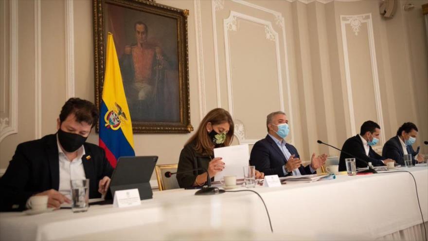 Duque y sectores políticos se reúnen sin lograr un acuerdo   HISPANTV