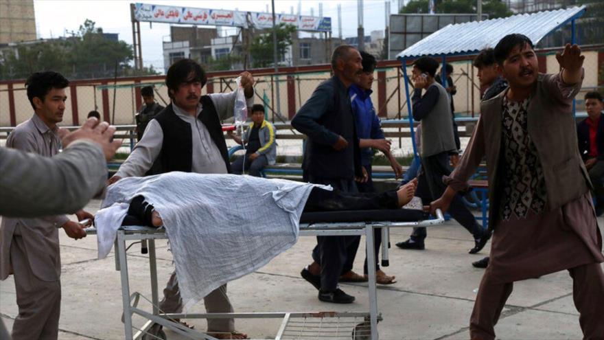 Vídeo: Explosiones en Afganistán dejan 25 muertos y 52 heridos