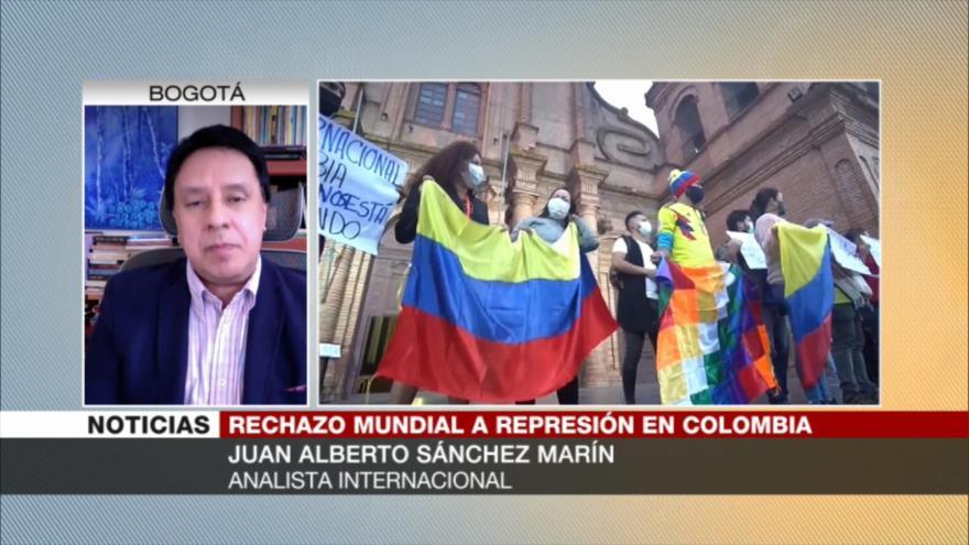 Sánchez Marín: Colombianos necesitan apoyo de todo el mundo