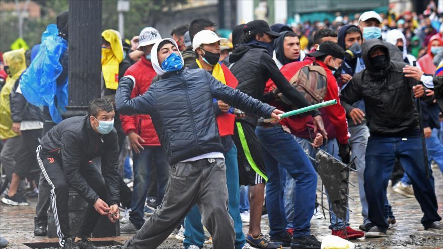 Represión policial en Colombia ha dejado más de 500 desaparecidos | HISPANTV