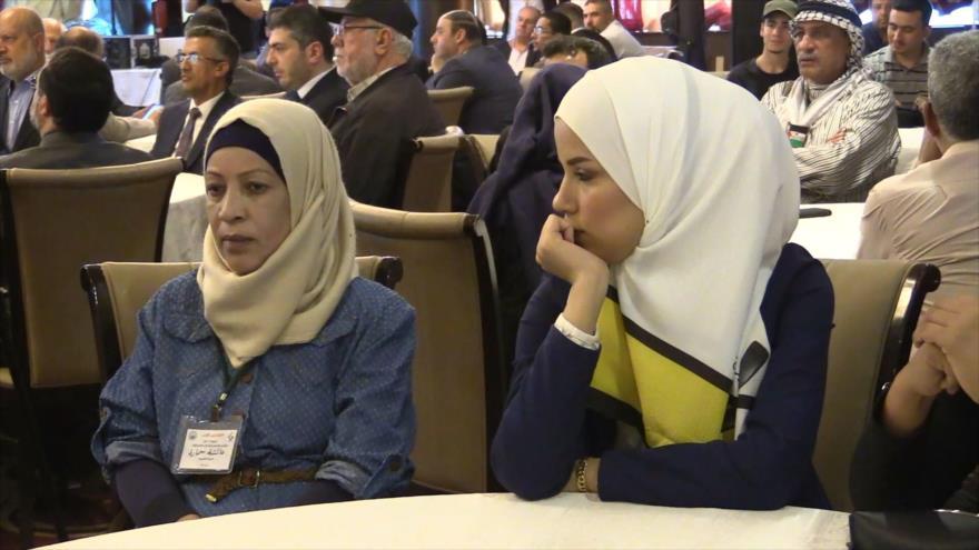 Celebran Conferencia Al-Quds para la Juventud Palestina en Siria