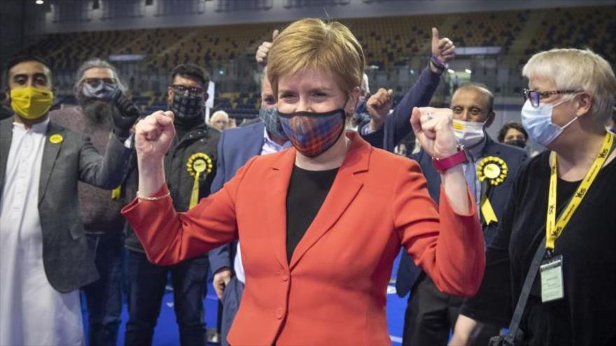Independentistas ganan elecciones en Escociay piden referéndum