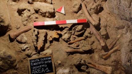 Vídeo: Hallan restos fósiles de neandertales de hace 90 000 años