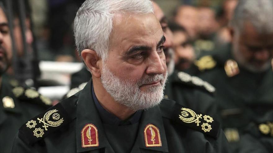El excomandante de la Fuerza Quds del Cuerpo de Guardianes de la Revolución Islámica (CGRI) de Irán, el general de división Qasem Soleimani.
