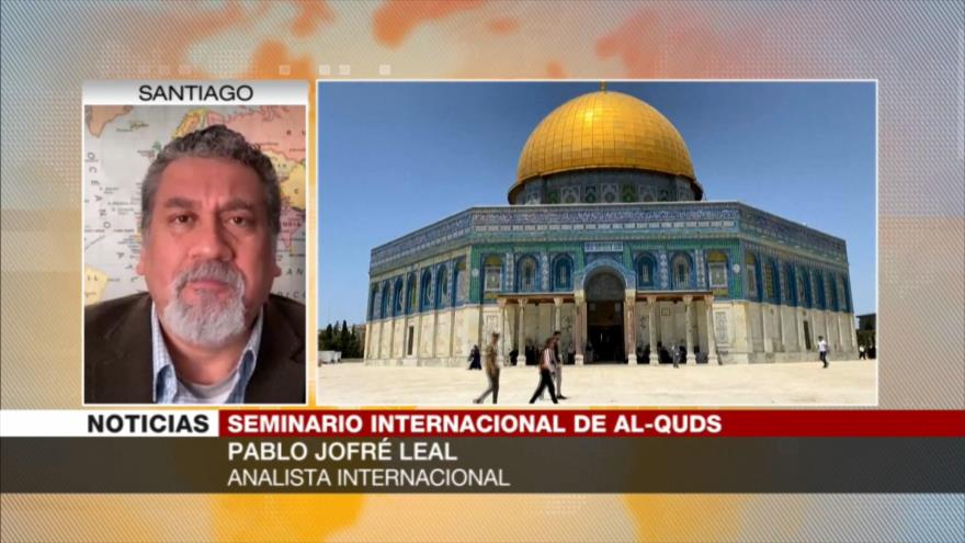 Jofré Leal: Cita virtual de Día de Al-Quds visibiliza crímenes de Israel