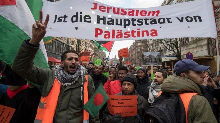 Vídeo: Se manifiestan en Alemania para conmemorar Día de Al-Quds