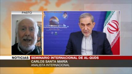 Santa María: Irán visibiliza al mundo el 'apartheid' israelí