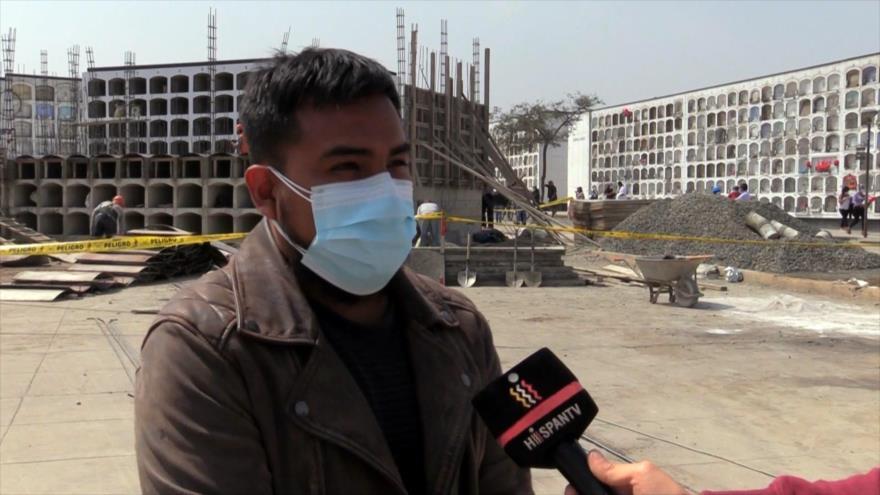 Faltan nichos en Perú por mayor mortandad registrada