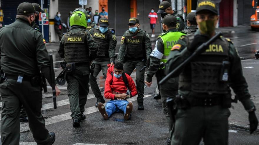 El ministerio de Defensa de Colombia desplegó 47 mil 500 uniformados en todo el país. (Foto: AFP)