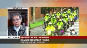 Posso: Gobierno de Colombia responde las protestas con represión