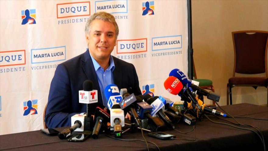 Colombia: Duque habla de democracia pero casa propia, el caos