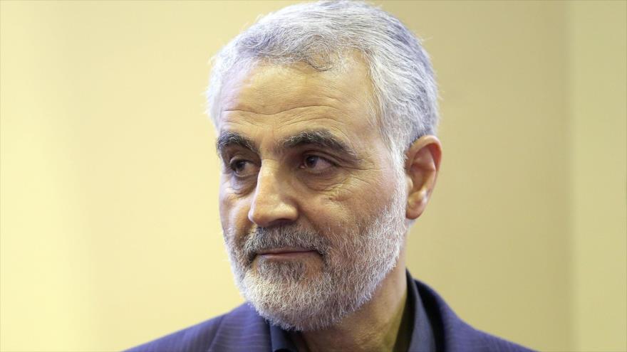 Teniente general Qasem Soleimani, excomandante de la Fuerza Quds del CGRI de Irán.