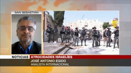 Egido: EEUU impide imponer sanciones contra el criminal Israel