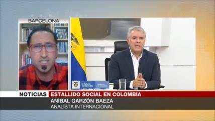 Baeza: La represión política no es algo novedoso en Colombia