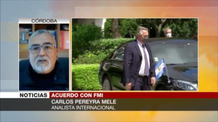 Pereyra: Fernández pide a Europa que le ayude a renegociar con FMI