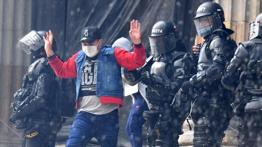 Muere otro joven por la letal represión de la ESMAD en Bogotá   HISPANTV