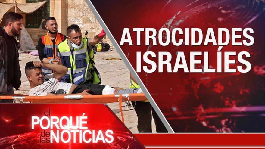 El Porqué de las Noticias: Atrocidades israelíes. Represión en Colombia. Argentina exige cambios en FMI