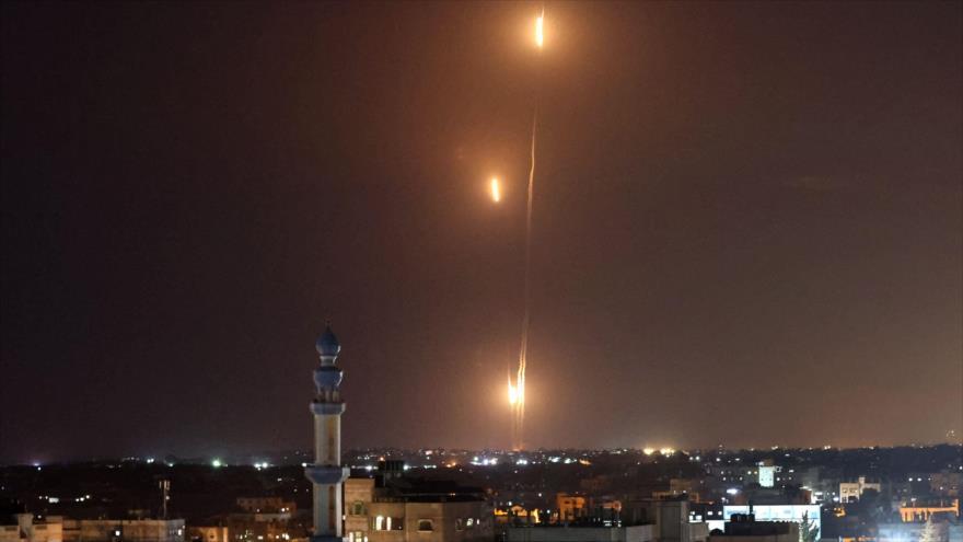 Amenaza cumplida: HAMAS ataca Tel Aviv con lluvia de 130 misiles
