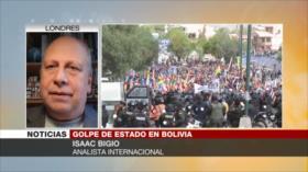 Bigio: Bolivianos no aceptarán una sola indemnización tras masacre