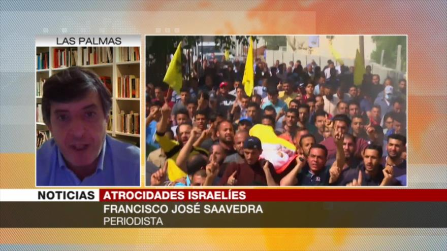 Saavedra: Israel ataca a palestinos para virar su crisis política