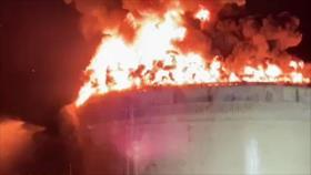 Vídeo: Ataque de HAMAS envuelve en llamas oleoducto israelí