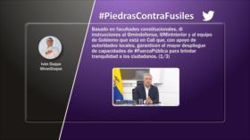 Etiquetaje: Piedras contra fusiles en Colombia