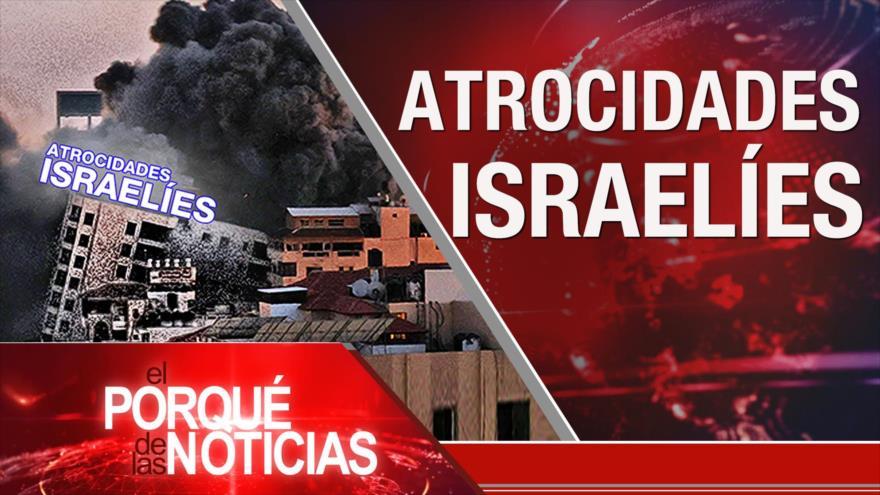 El Porqué de las Noticias: Ataques israelíes contra los palestinos