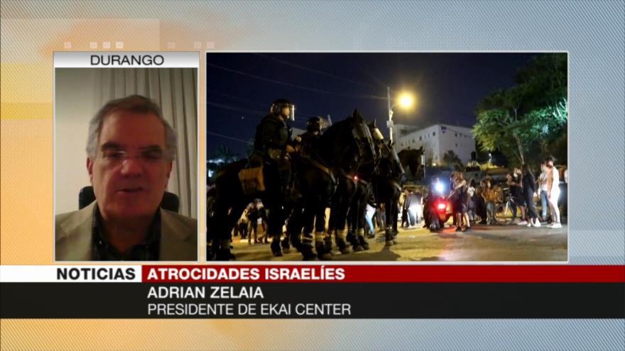 Zelaia: Israel agrede a Palestina para tapar sus problemas internos