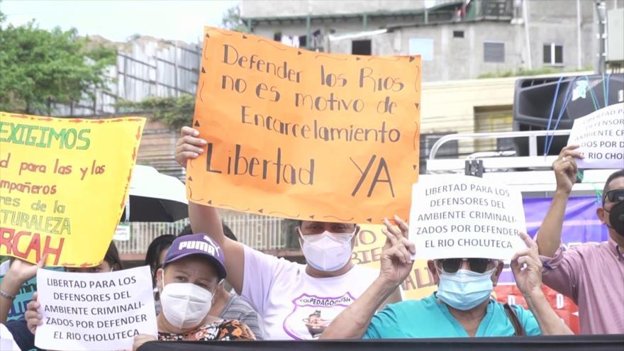 Ambientalistas al filo de muerte y persecución estatal en Honduras