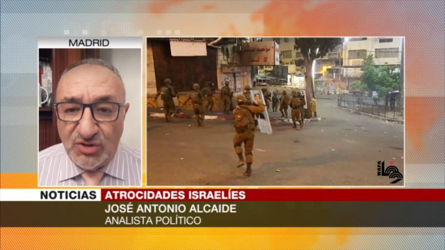 Alcaide: Violencia de Israel busca evitar una Palestina unida