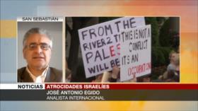 Egido: Crímenes de Israel son fruto de apoyo del Occidente