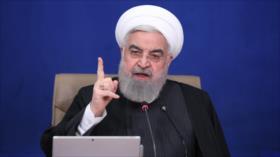 """Rohani condena masacre de los palestinos por """"locos sionistas"""""""