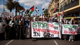 Vídeo: Sudafricanos solicitan el cierre de la embajada de Israel