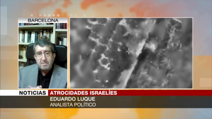 """Luque: Actitud de UE hacia palestinos es una """"vergüenza política"""""""