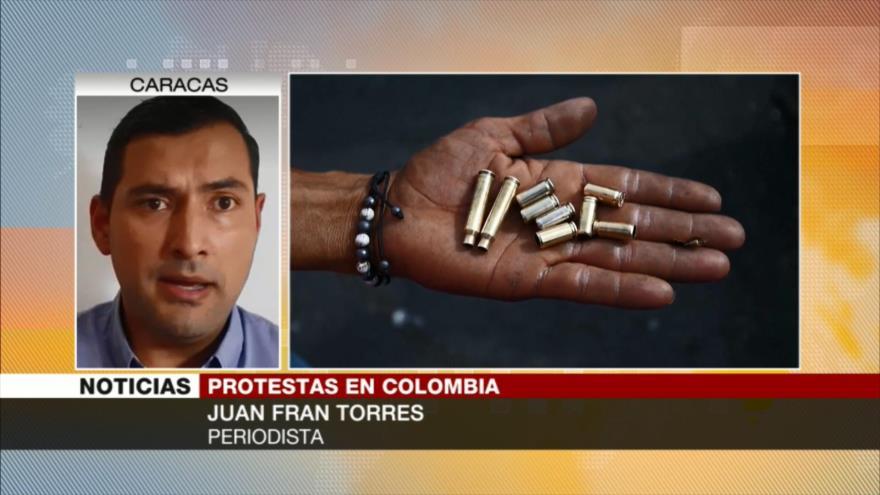 Torres: Iván Duque no quiere negociar con el pueblo colombiano