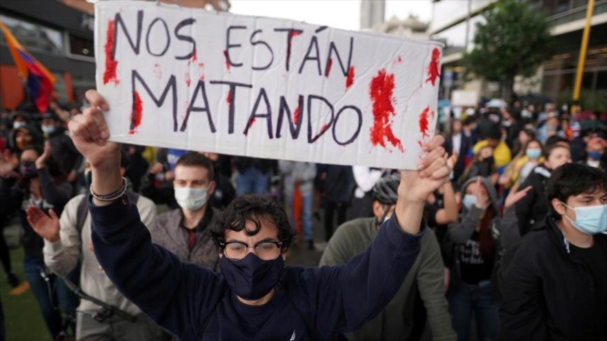 Protestas antigubernamentales continúan en Colombia