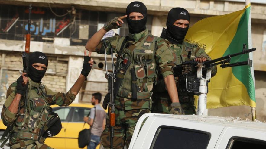 Fuerzas del Movimiento de Resistencia Islámica de Irak (Kataeb Hezbolá)