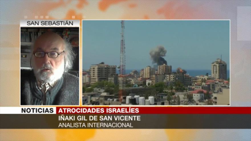 San Vicente: EEUU alienta a Israel a seguir agrediendo a Gaza
