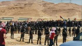 Vídeo: Jordanos y libaneses llegan a frontera en apoyo de Palestina