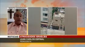 Carlos Espinal: Israel comete genocidio contra palestinos en Gaza