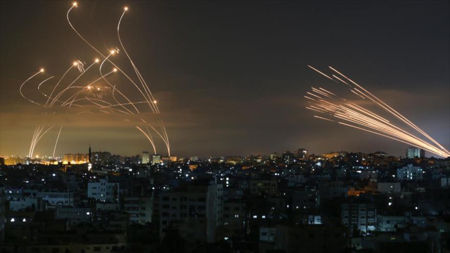 Resistencia palestina atacó Tel Aviv con 150 misiles en 3 minutos | HISPANTV