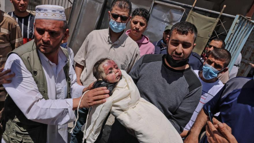Sube a 122 cifra de muertos en Gaza; Israel sigue matando a palestinos   HISPANTV