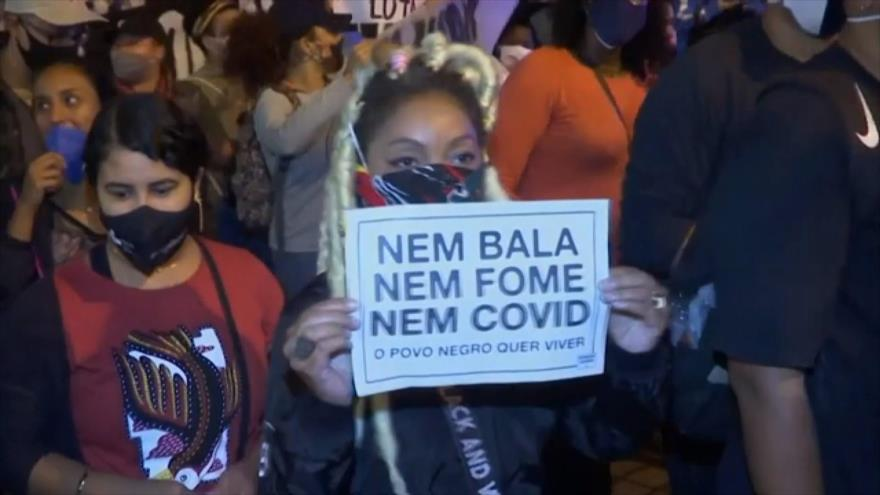 El racismo y la violencia policial provocan ira de los brasileños