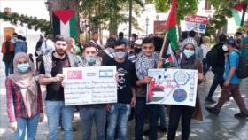 Vídeo: Venezolanos rechazan agresiones israelíes contra palestinos
