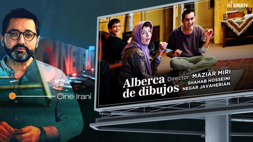 Cine iraní: Alberca de dibujos