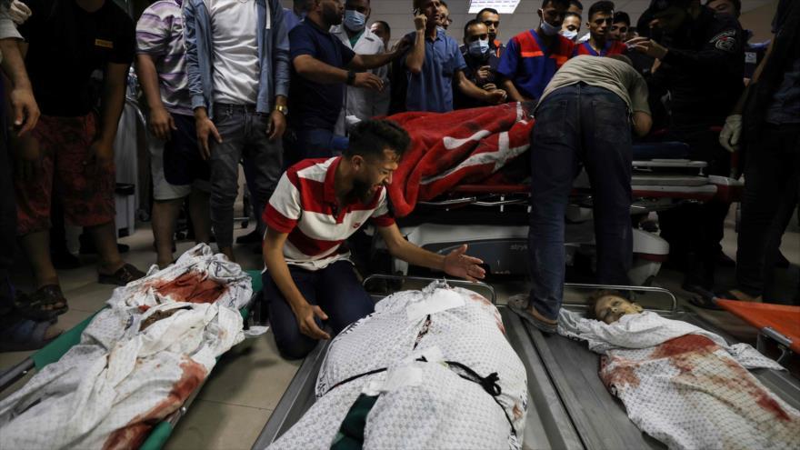 6 niños de una familia palestina mueren en un ataque aéreo israelí | HISPANTV
