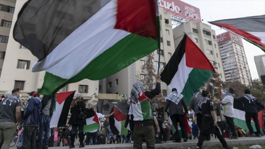 """Chile repudia violencia """"terrorista de Israel"""" contra Palestina   HISPANTV"""
