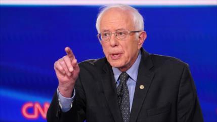 """Sanders: Israel cultiva una especie de """"nacionalismo racista"""""""