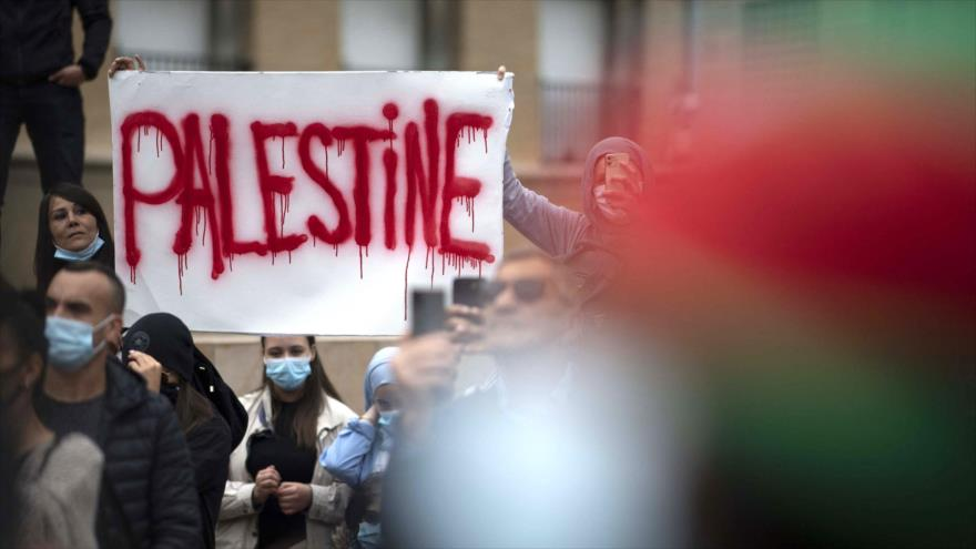 Salen a las calles de Europa en apoyo a Palestina ante Israel   HISPANTV